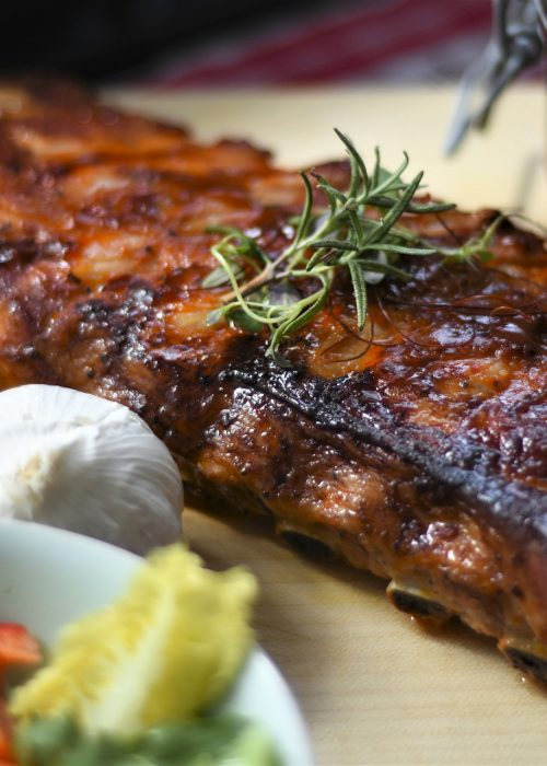 Spare ribs in Nagerl beer garden