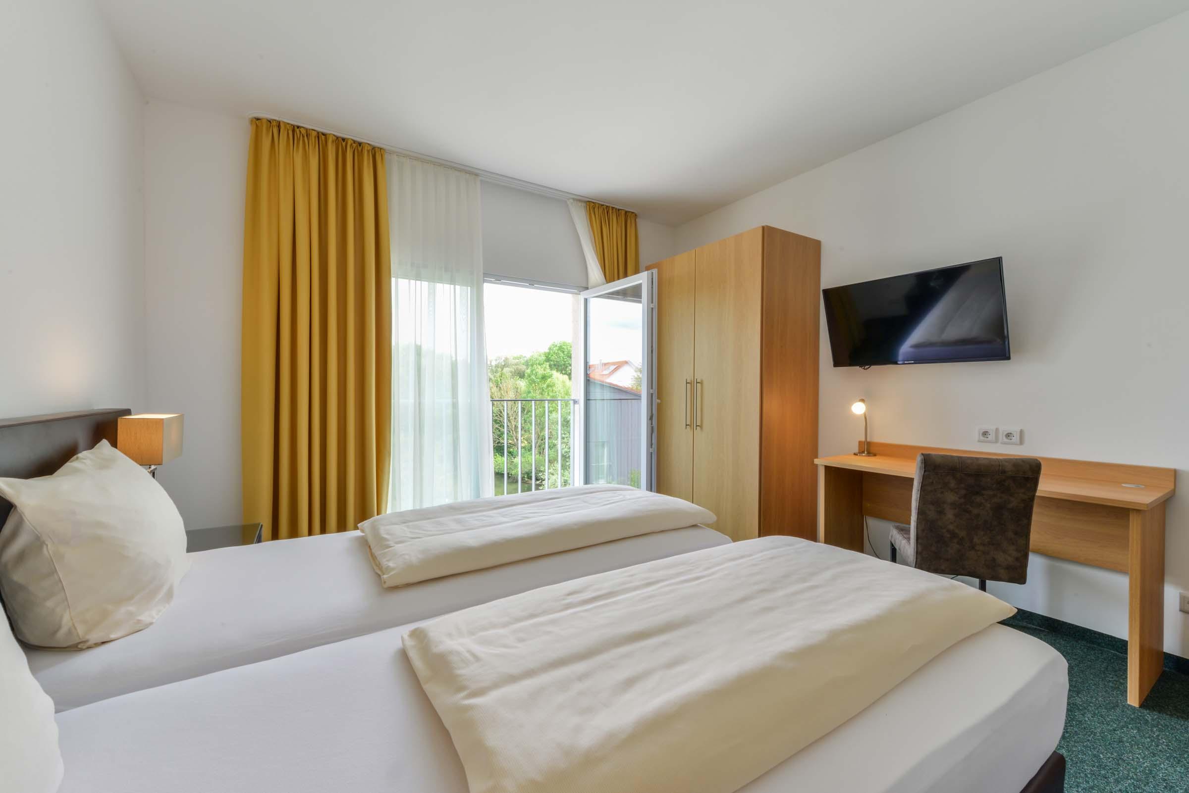 Hotel Nagerl - Doppelzimmer am Flughafen München