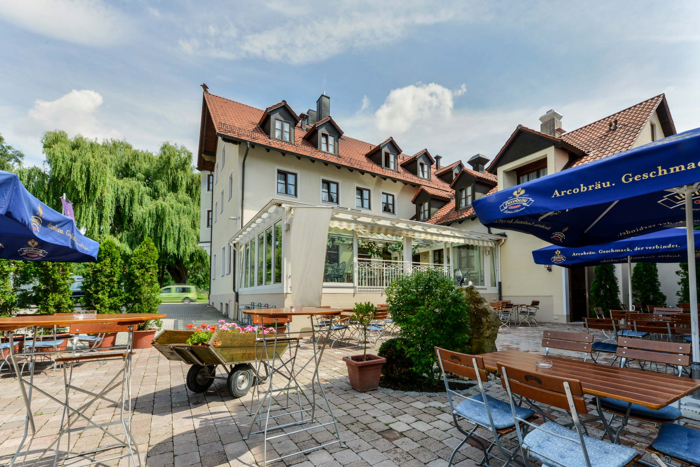 Restaurant Nagerl Marzling with beer garden